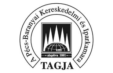 A Pécs-Baranyai Kereskedelmi és Iparkamara tagja védjegy