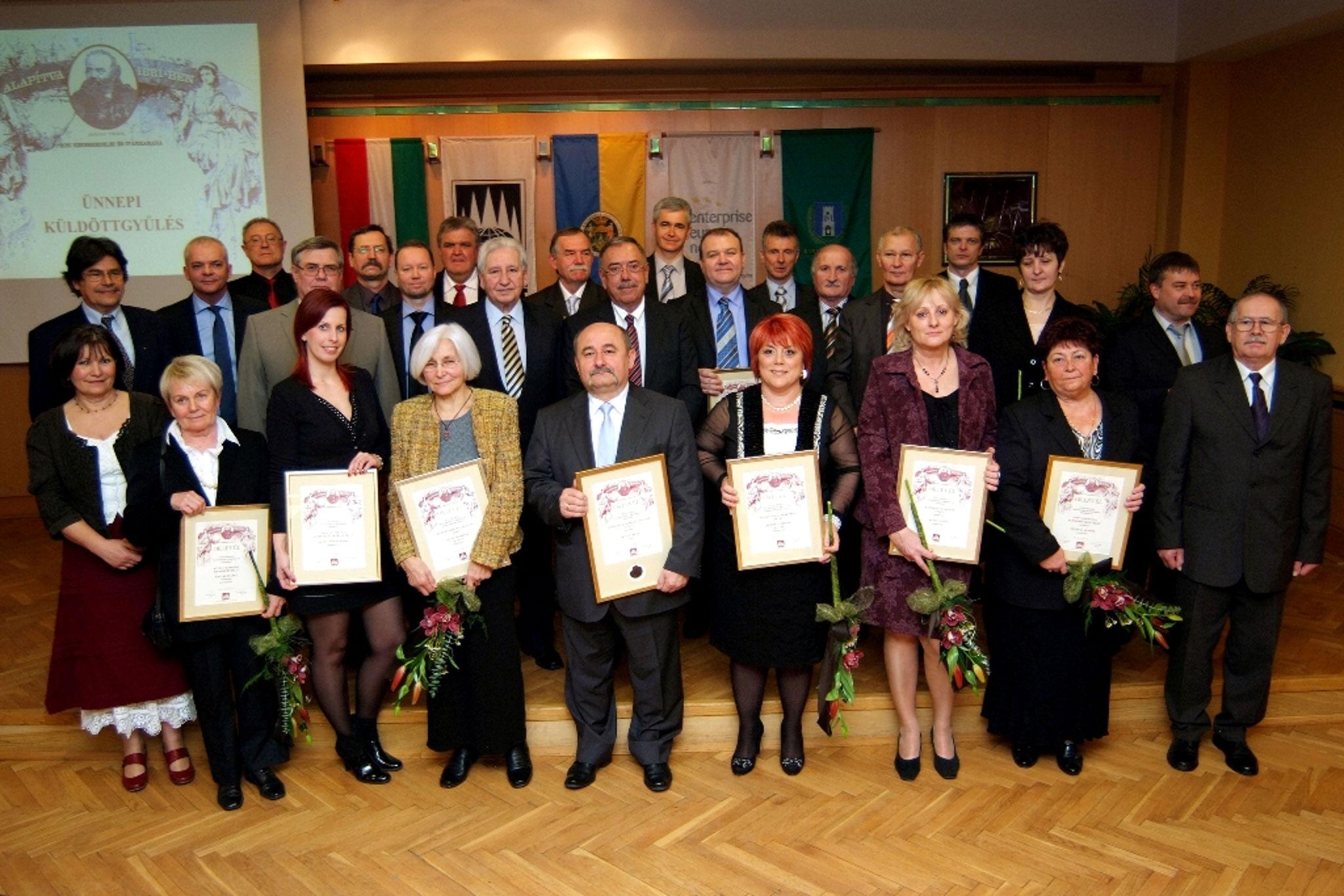 A PBKIK 2012-es díjazottjai