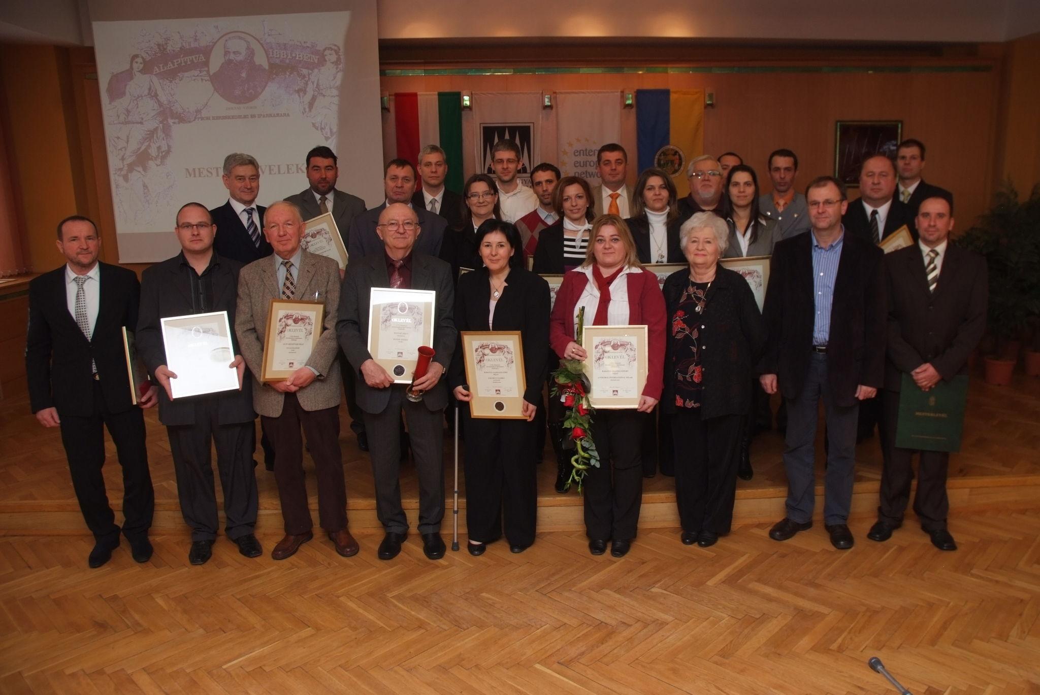 A PBKIK 2013-as díjazottjai