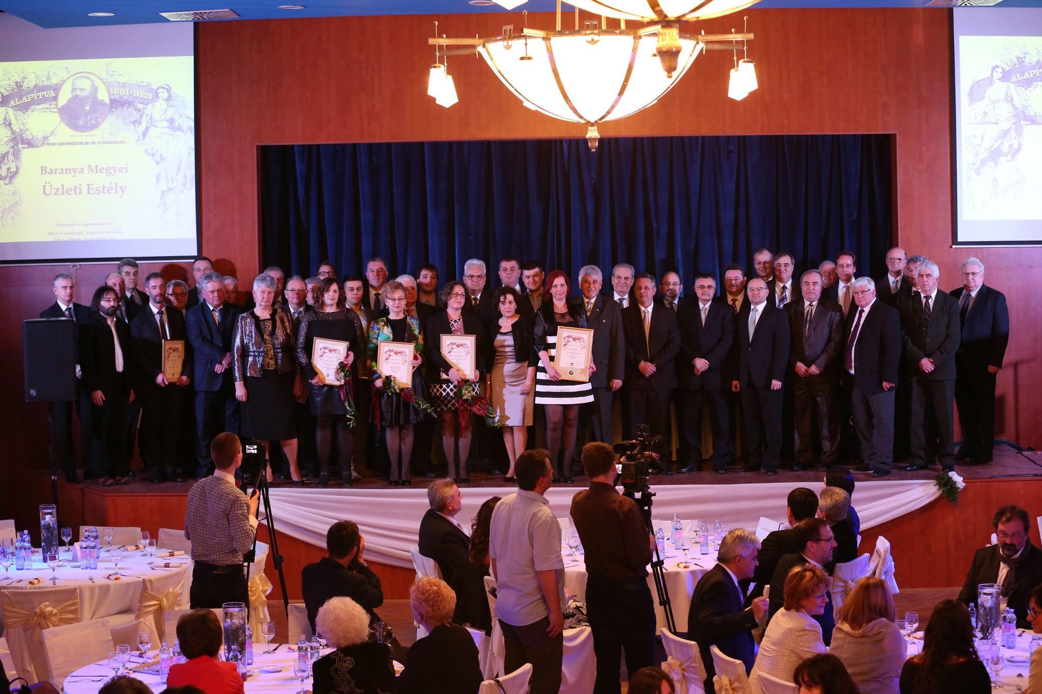 A PBKIK 2015-ös díjazottjai