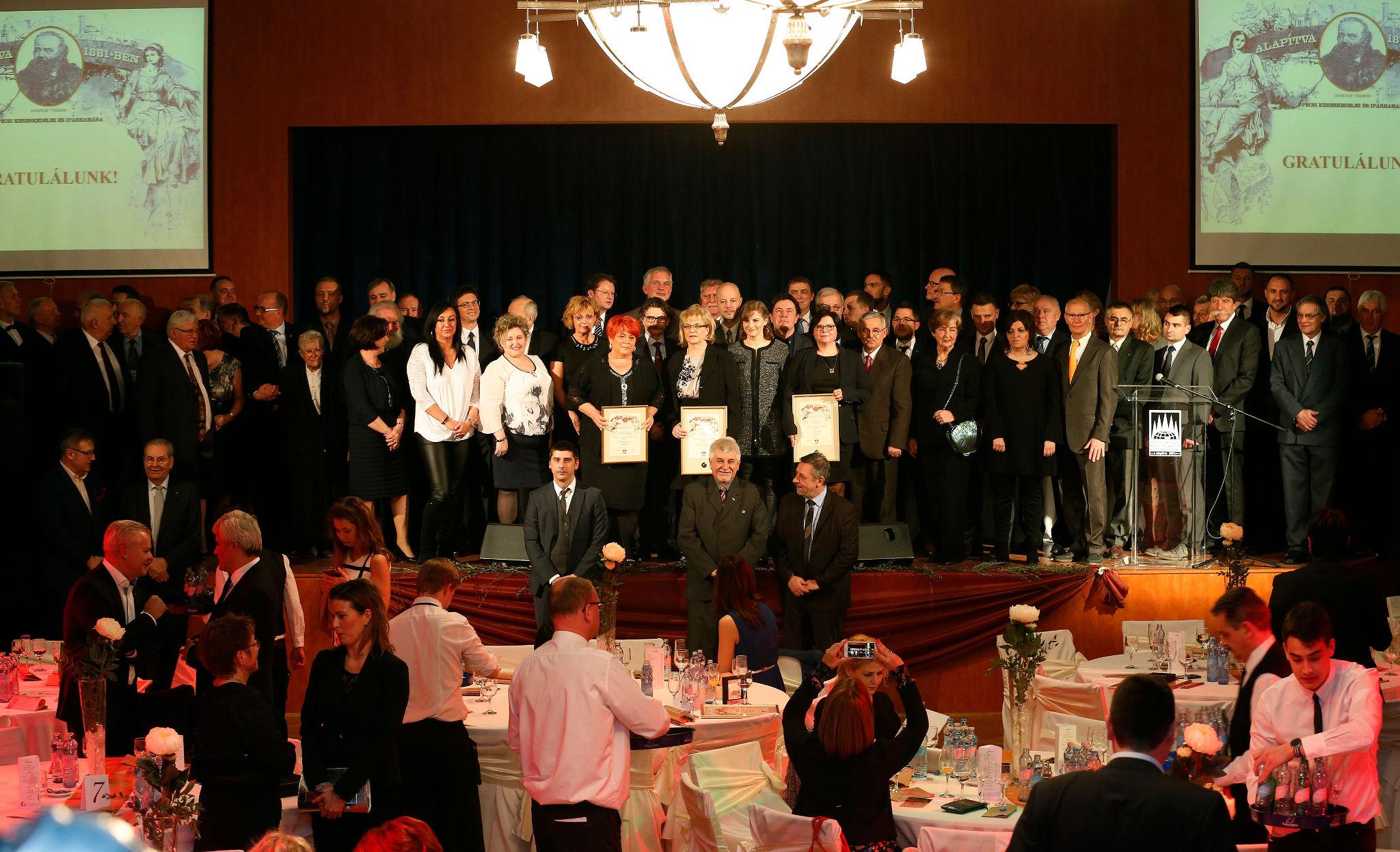 A PBKIK 2017-es díjazottjai