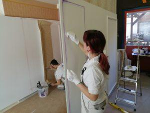 Skills válogató festő
